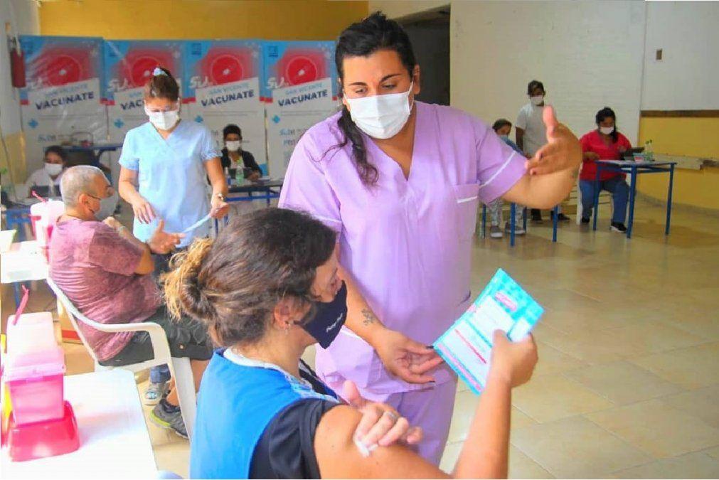 San Vicente alcanzó cuatro días sin casos de coronavirus y ya aplicaron casi 95 mil vacunas