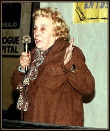 Carmencita Valls, maestra y voluntaria histórica de San Vicente.