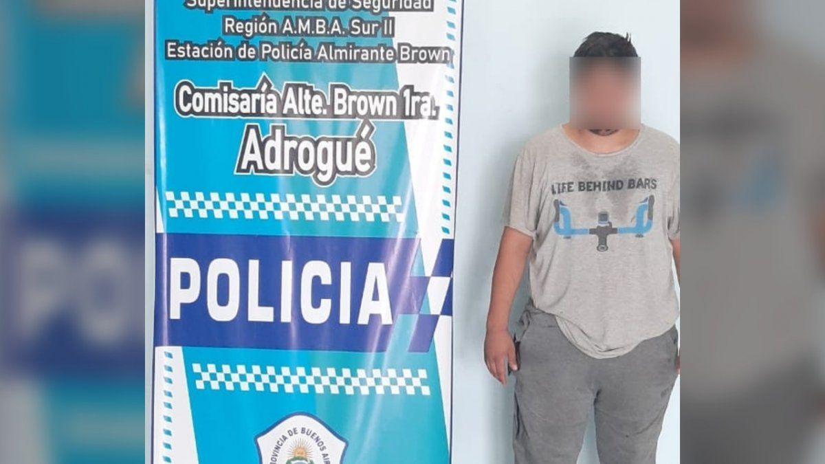 Era buscado por un abuso y cayó por robar carne en un supermercado de Adrogué