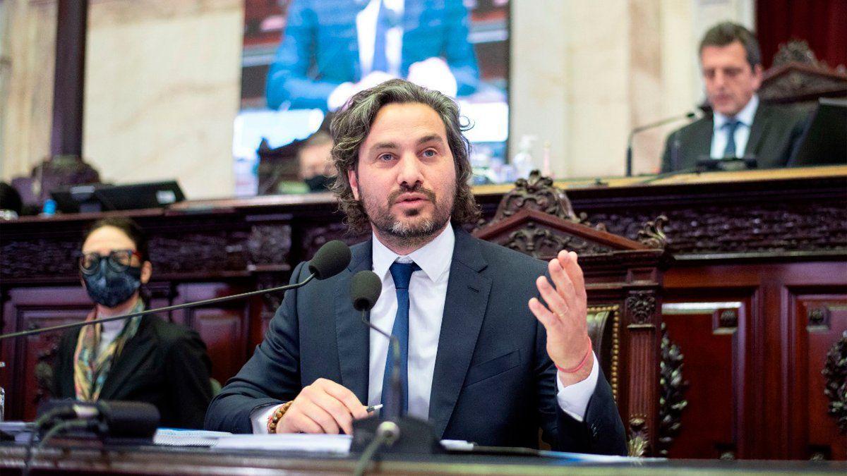 Santiago Cafiero presentó su informe sobre los jubilados de Anses ante la Cámara de Diputados.