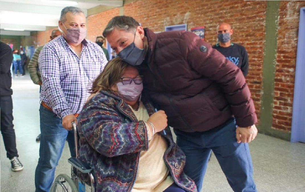 Fernando Gray y Silvia Casas hablaron tras la victoria del Frente de Todos en Echeverría