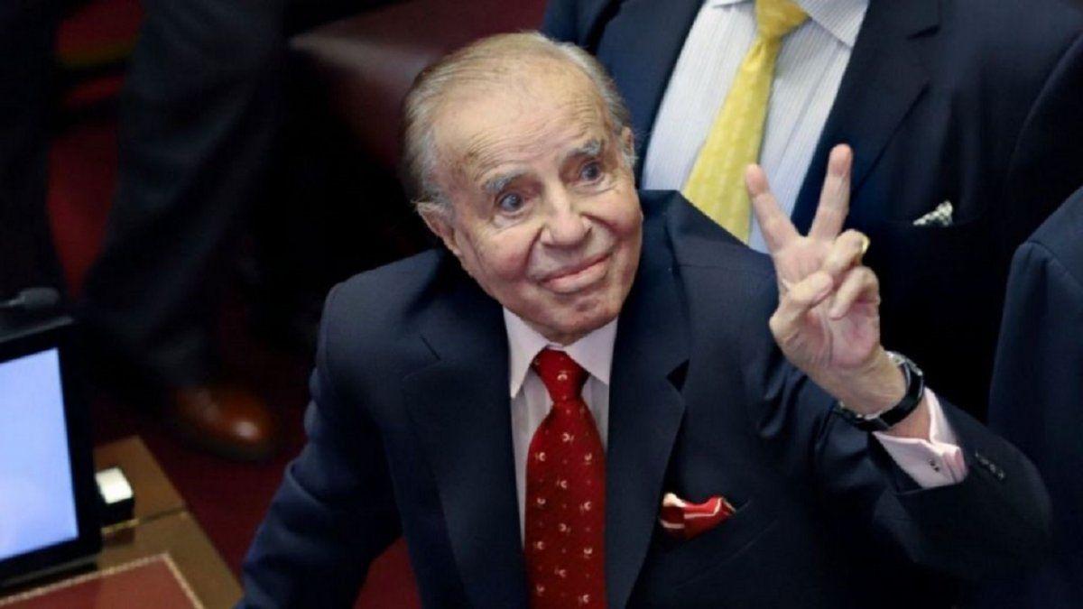 El expresidente Carlos Menem falleció a los 90 años.