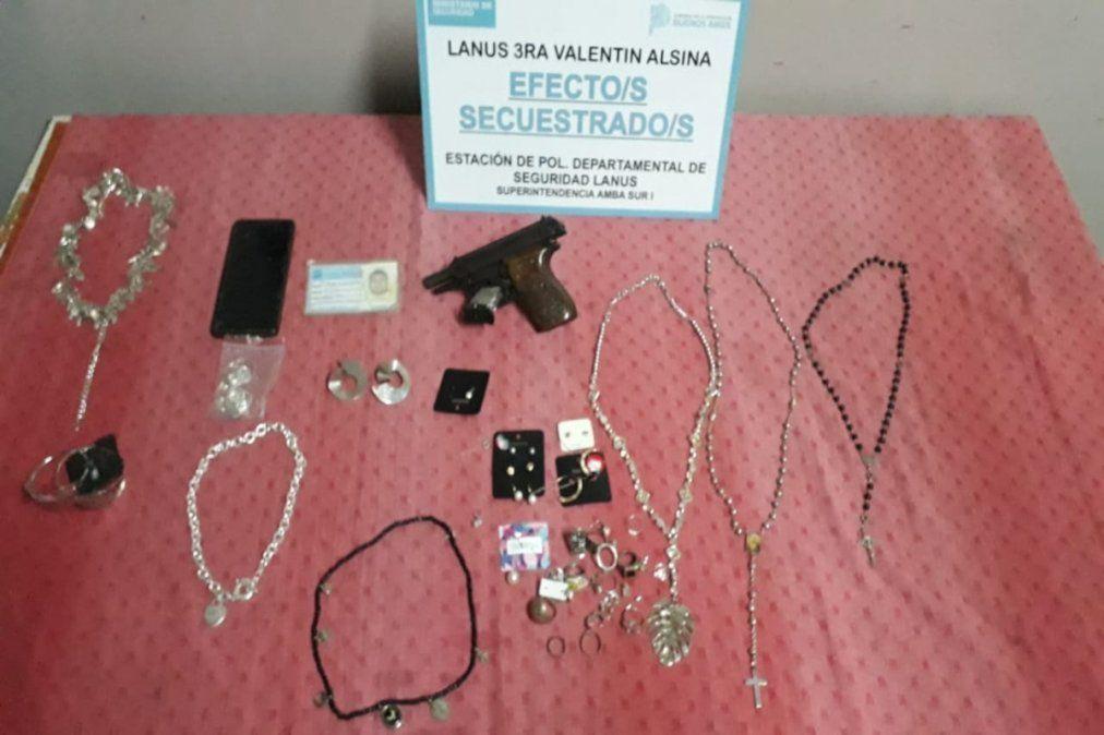 Cuatro detenidos por robo agravado en Lanús