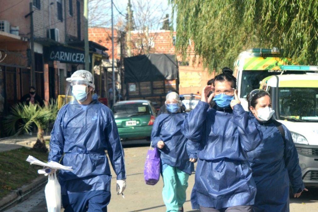 Coronavirus en Lomas: casi 6 contagios por hora y 4 muertes