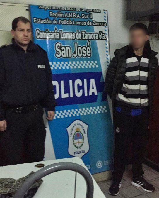 Recapturaron en San José al segundo prófugo de la Comisaría 9ª de Lomas de Zamora.