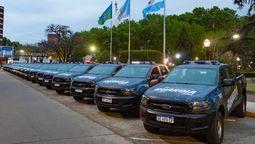 Esteban Echeverría: pondrán en marcha 20 nuevos móviles de la Guardia Urbana del Municipio
