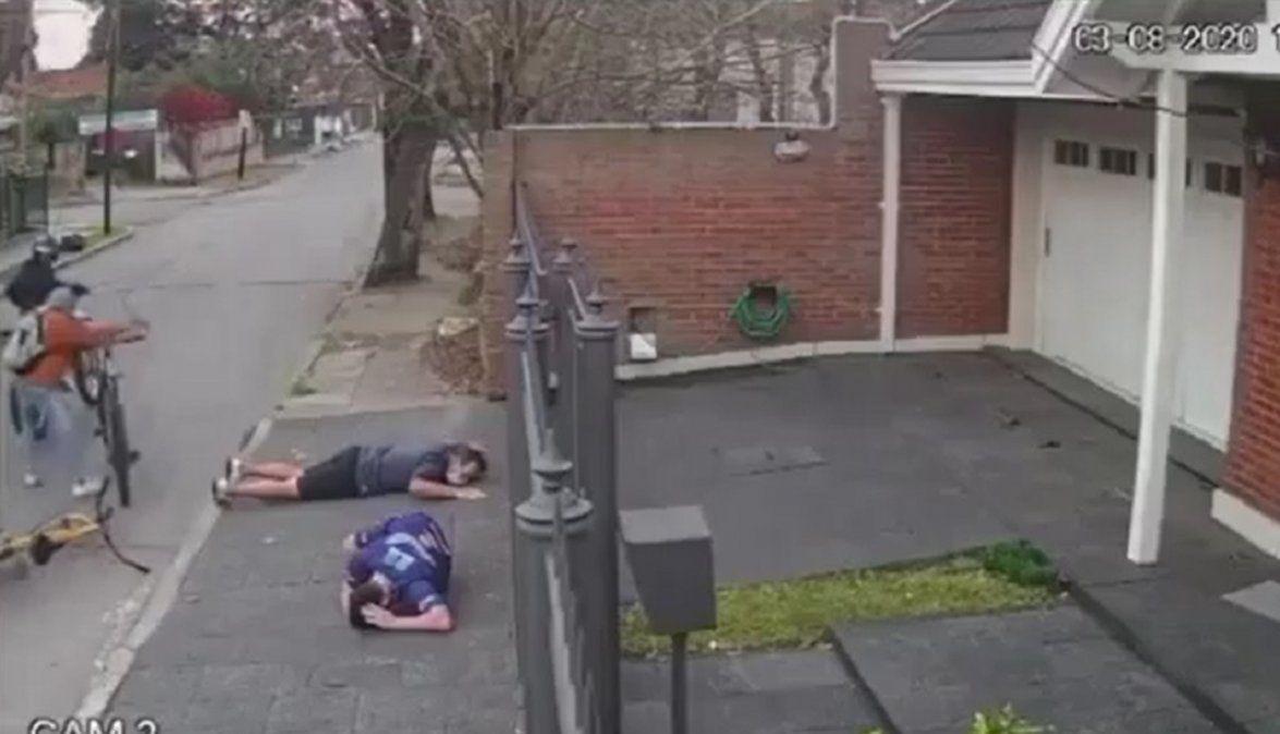 Adrogué: Dos detenidos por el robo a padre e hijo