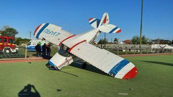 Cayó una avioneta en el Club Pucará de Burzaco