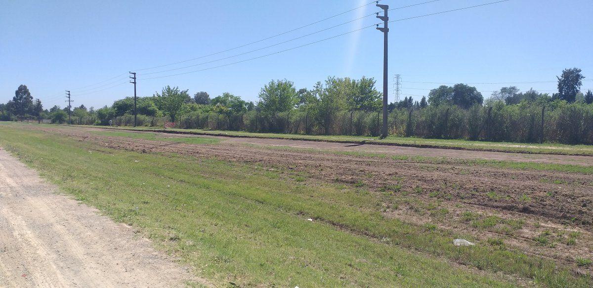 La bicisenda tendrá 2 metros de ancho y será de gran utilidad para los vecinos de Canning.