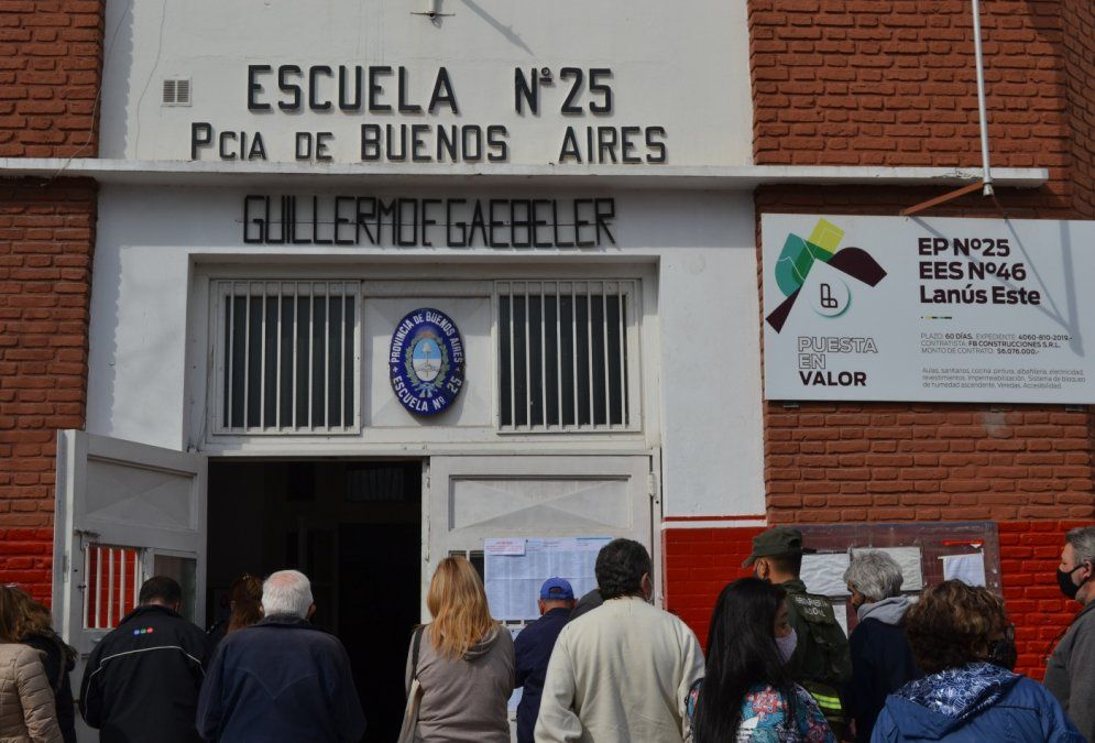 Elecciones en Lanús: quién fue el candidato menos votado
