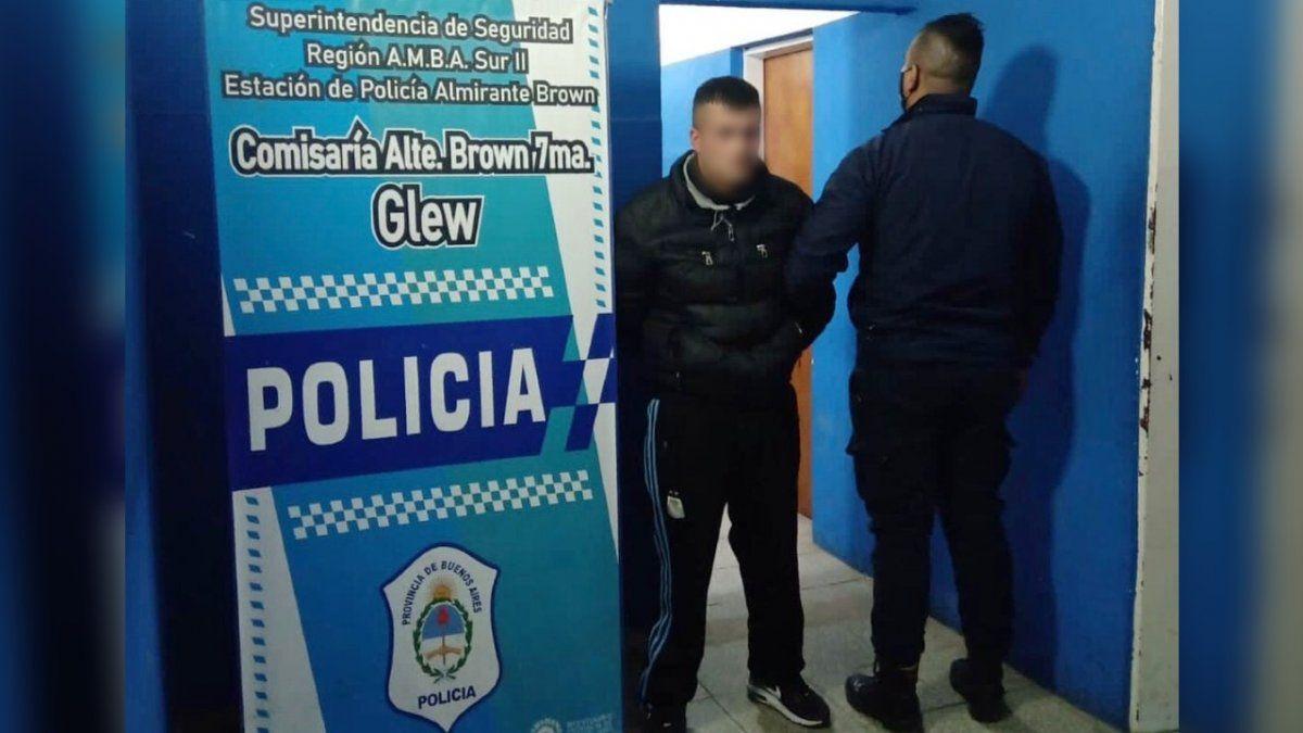 Cayó un delincuente buscado por cometer varios delitos en Glew