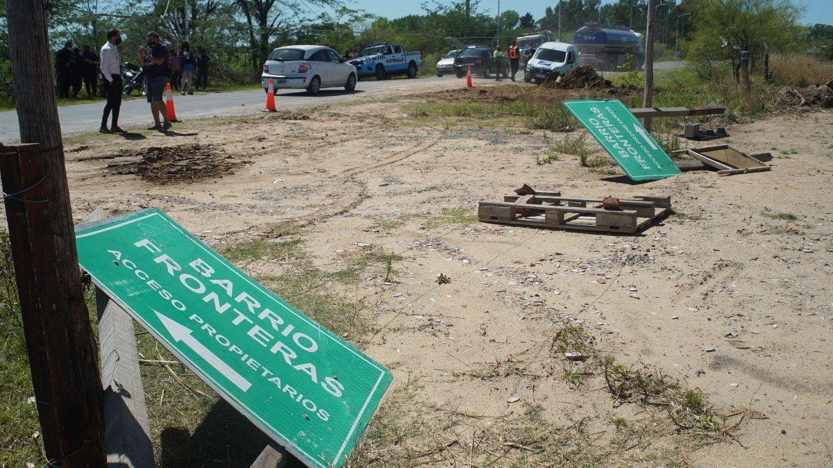 Fronteras, uno de los barrios en la causa de los countries truchos en San Vicente