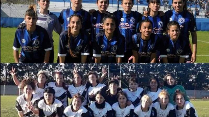 Las chicas de San Martín y Claypole tuvieron su debut en el torneo de AFA