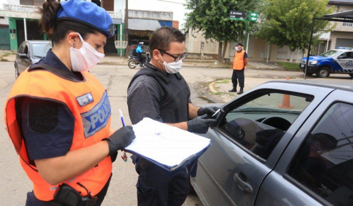 Provincia: refuerzan los controles en los accesos desde Capital