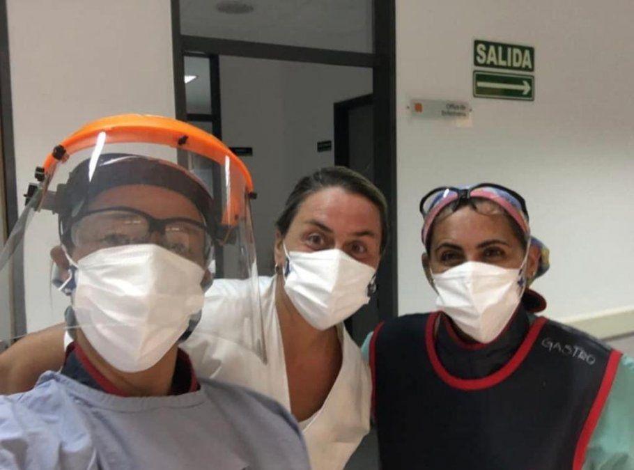 Una Leona de Lanús: de medallista olímpica a luchar como médica contra el coronavirus