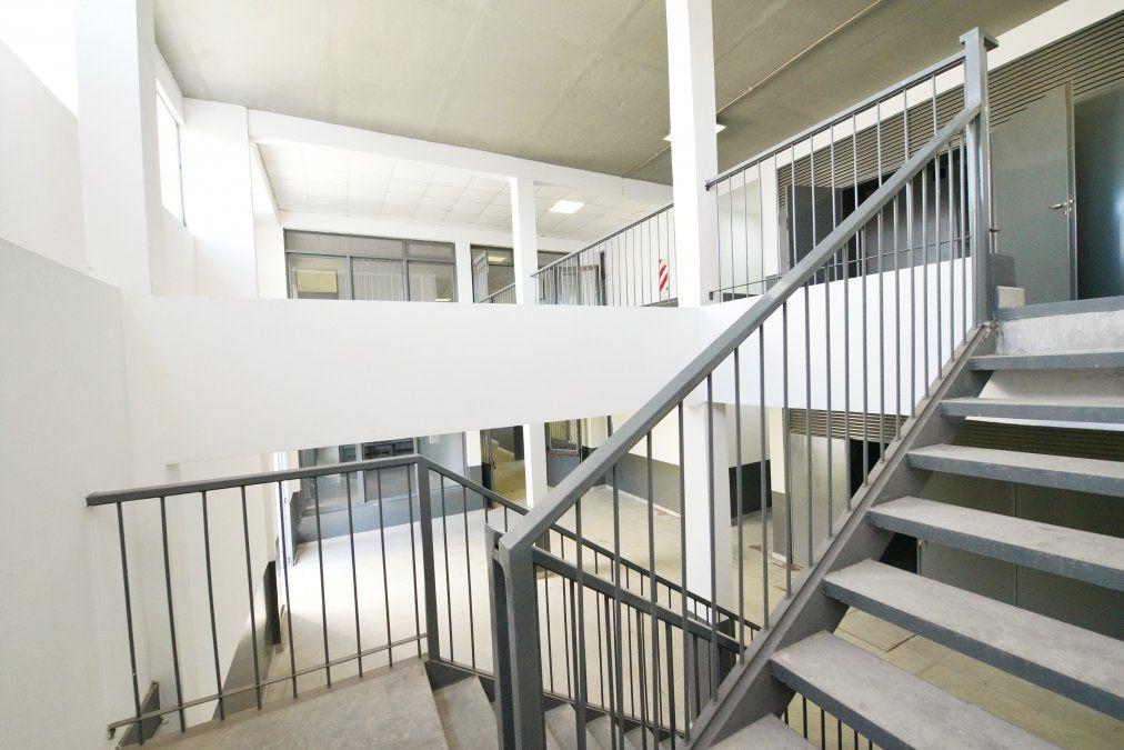 Concretan las obras de la escuela secundaria 21 de El Jagüel