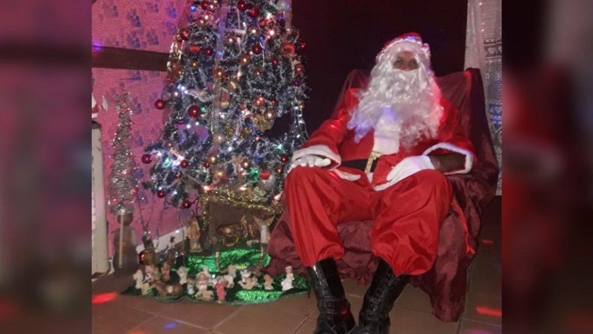 Papá Noel solidario: recorrerá Don Orione para entregar regalos a los chicos