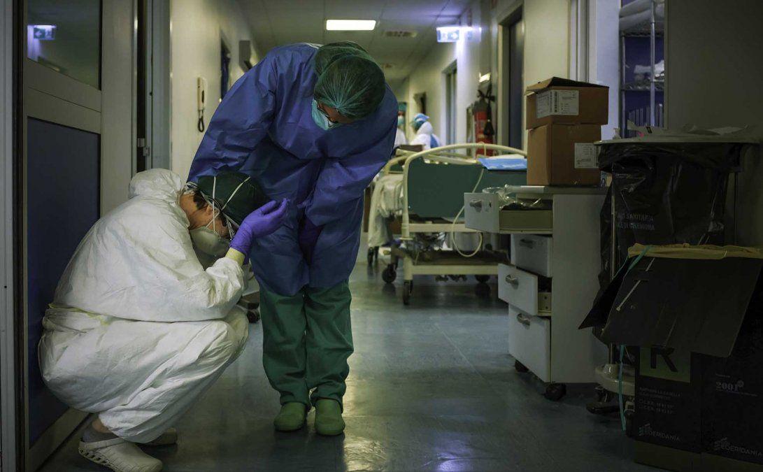 Reporte de coronavirus en Argentina.