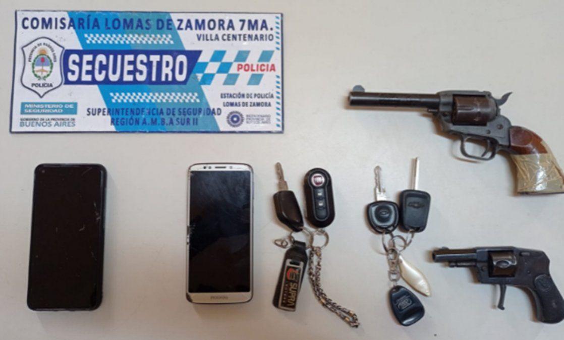 Robaron un auto en Lomas de Zamora y los delató el GPS de un celular