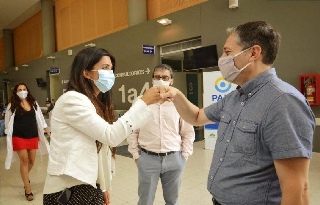 El PAMI inició su campaña de vacunación nacional en Esteban Echeverría