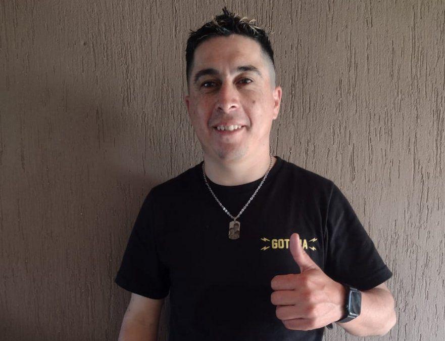 Sergio Monzón, jefe de Encomiendas.
