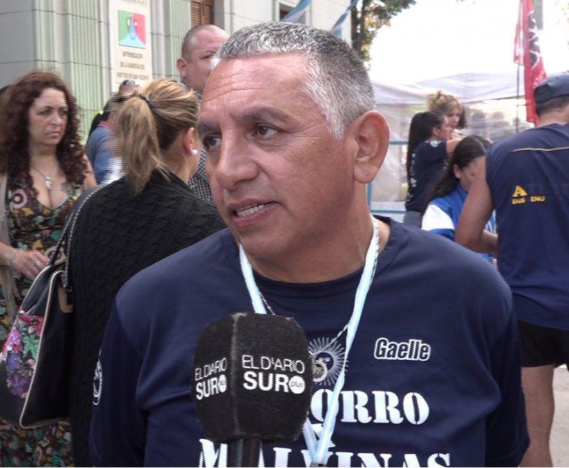 La despedida de Ruben Ramírez, un héroe de Malvinas con una historia de amor en San Vicente