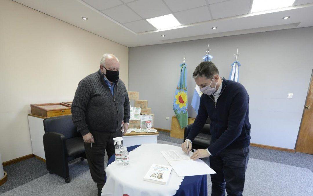 Renovaron el acuerdo Pro Tenencia en Esteban Echeverría