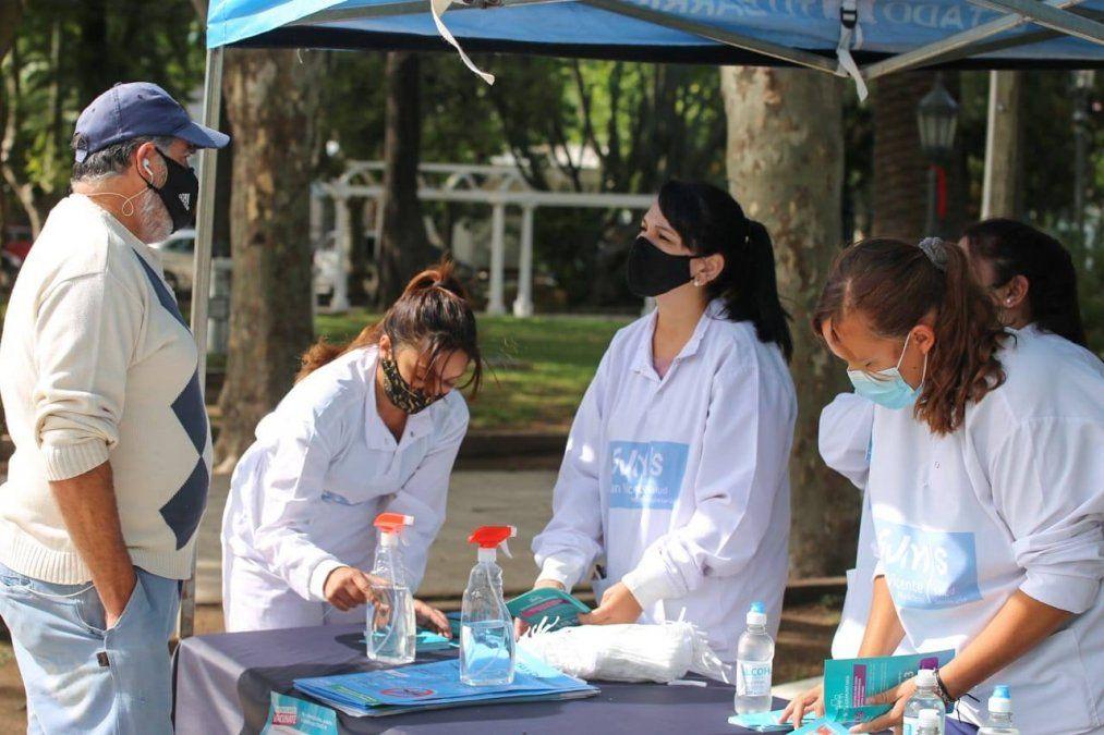 San Vicente: advierten por una fuerte suba de casos de coronavirus