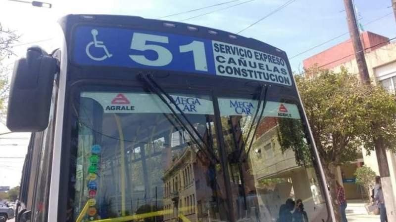 Cambio de recorrido en el Expreso 51 a Constitución