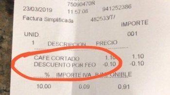 Descuento por feo: la oferta de una cafetería que se volvió viral