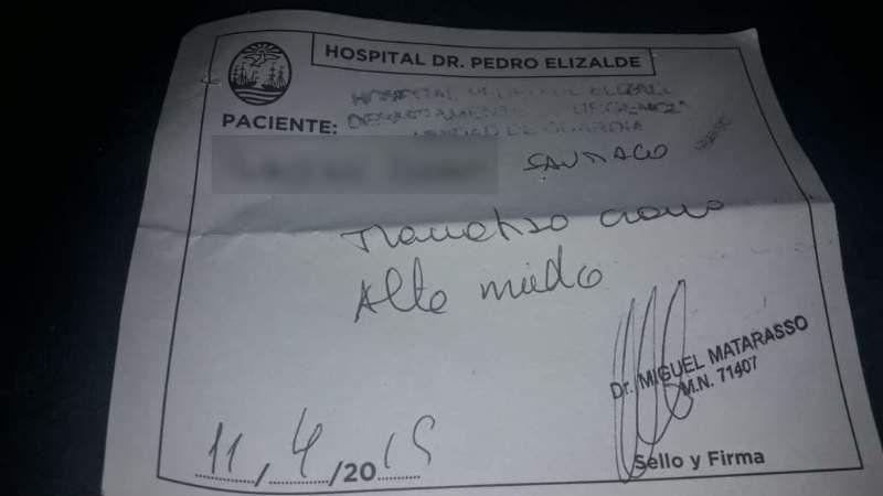 Glew: Un nene sufrió una golpiza en la escuela y terminó internado