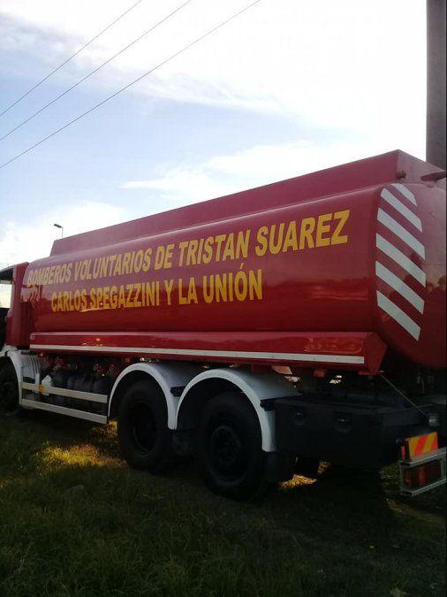 Los bomberos de Tristán Suárez y Spegazzini celebran 47 años de servicio