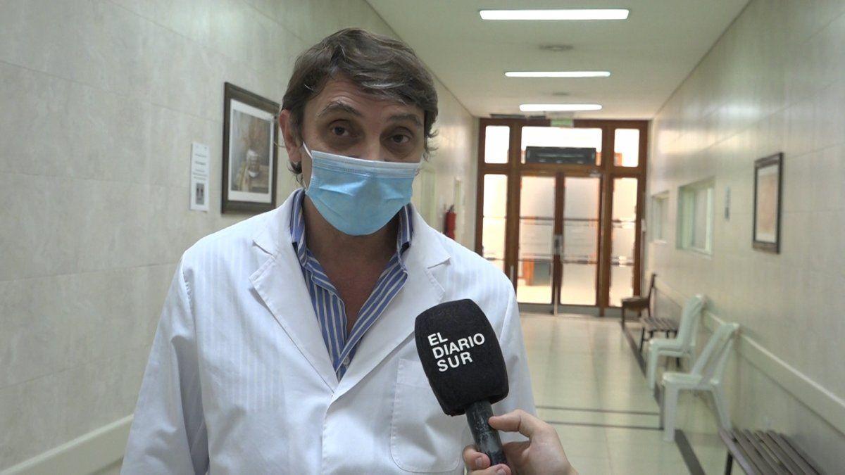 Hospital de San Vicente: más internados jóvenes por coronavirus y 75% de ocupación