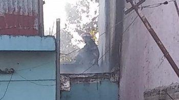 Nuevo incendio en una vivienda en Almirante Brown