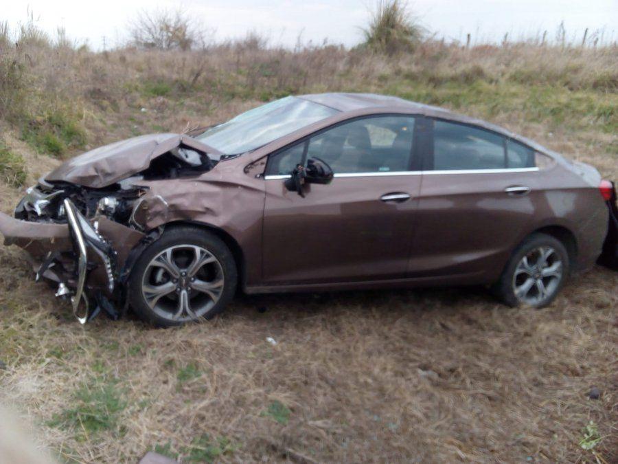 Accidente en San Vicente