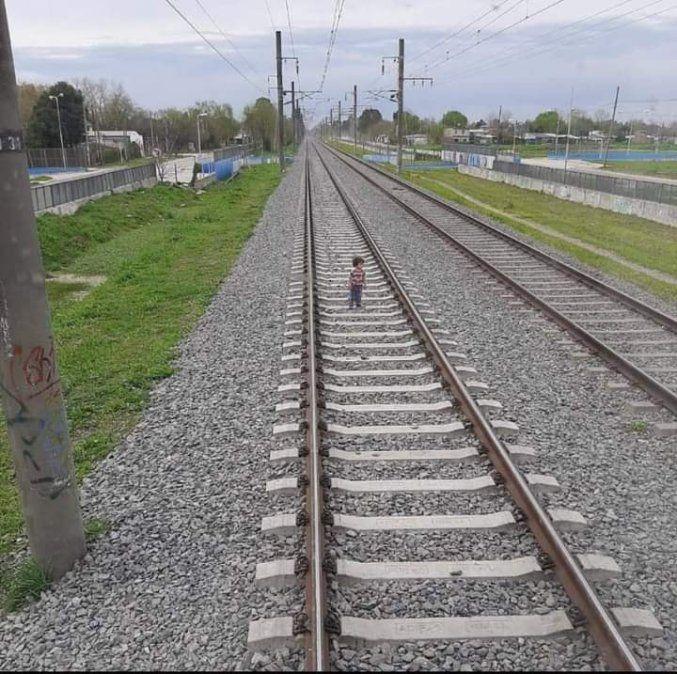 Video: milagroso freno del tren salvó la vida de un niño en Guernica