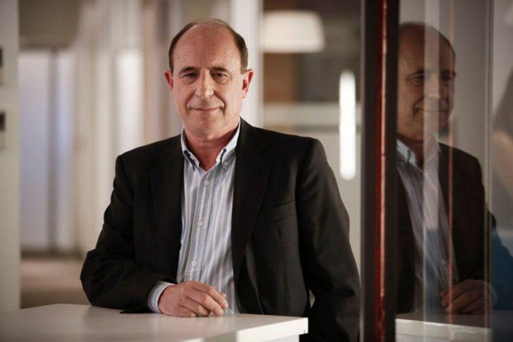 El profe Ossona, docente de la UBA, protagonista principal del video viral.