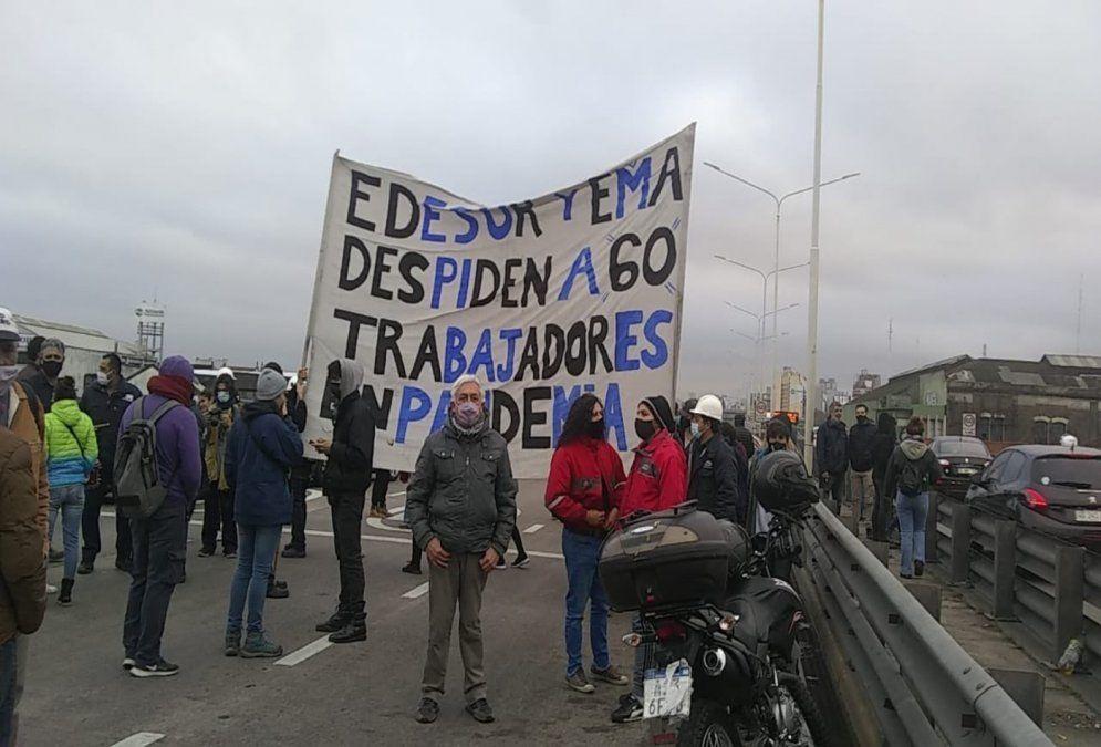 Corte total y protesta en Puente Pueyrredón