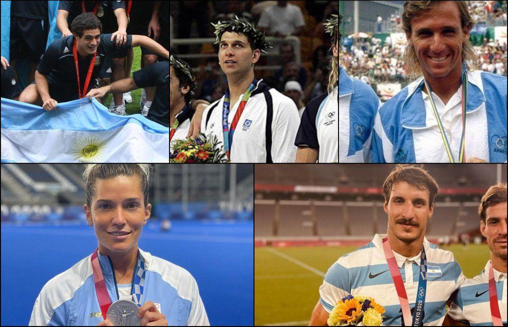 Los cinco deportistas de Almirante Brown que ganaron medallas en los Juegos Olímpicos