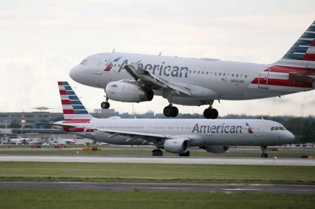 American Airlnes reanudará su servicio de Ezeiza-Miami de forma limitada.