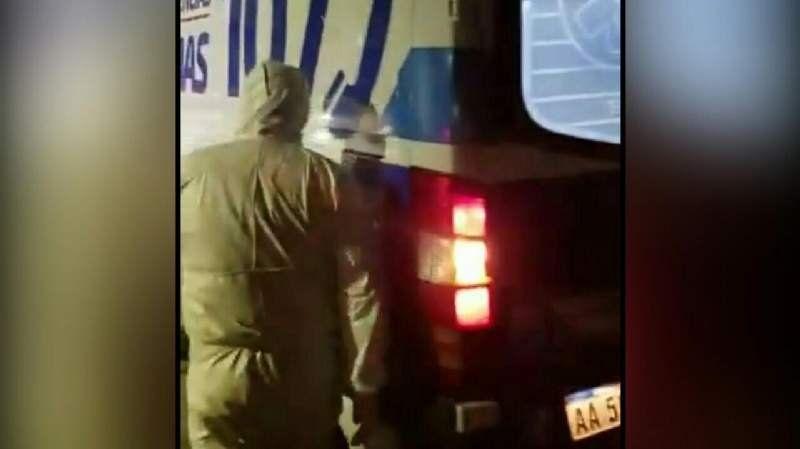 Temperley: así fue el traslado del policía contagiado de coronavirus