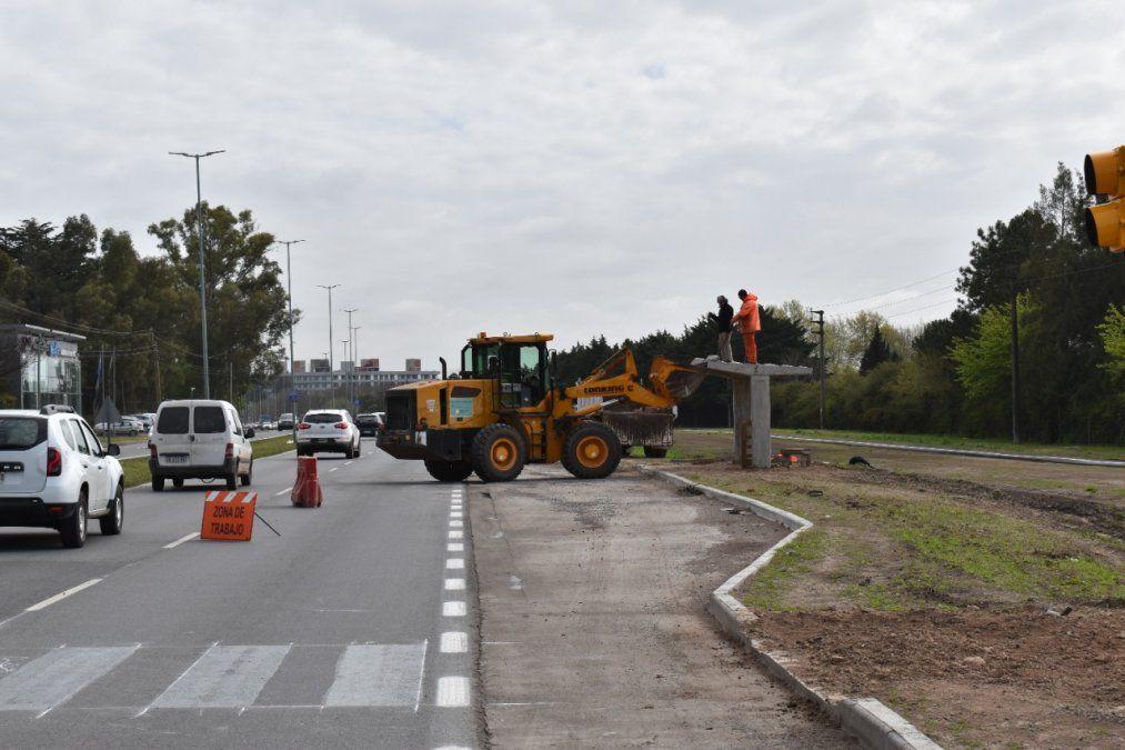 Ruta 58: Colocan 4 paradas de colectivos nuevas
