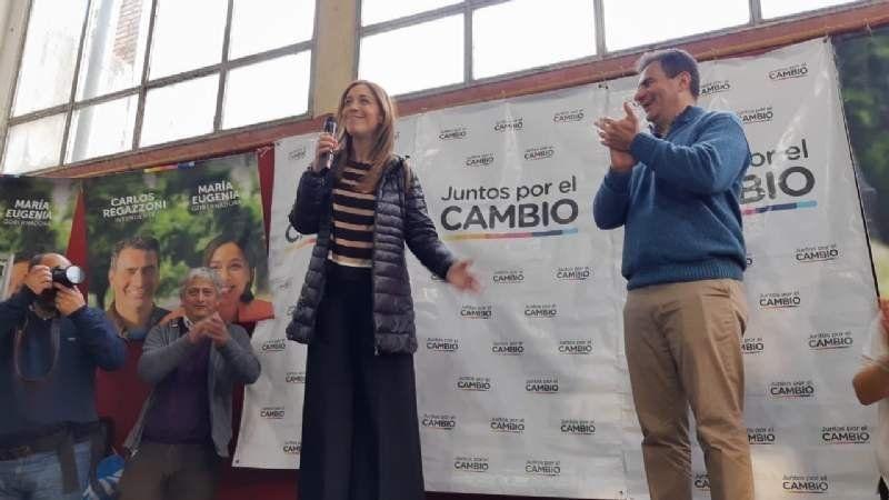 Vidal de visita en Adrogué: entre el apoyo y las críticas