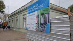 alejandro korn: instalan dos nuevos cajeros automaticos