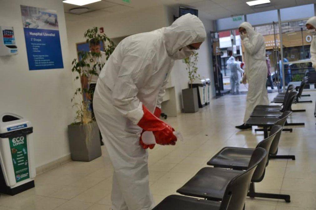 Lomas de Zamora sumó cinco muertes y casi 700 contagios durante el fin de semana