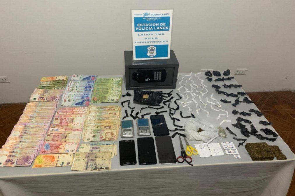 Lanús: Cayó una banda de narcomenudeo