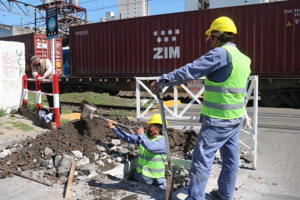 Empezó la construcción del paso bajo nivel de Loria-Ayacucho.
