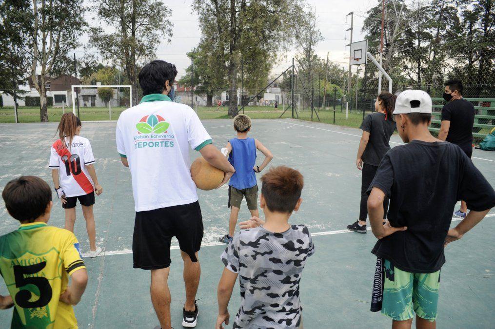 Abre la inscripción para deportes presenciales en Echeverría