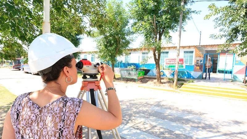 ¿Cómo siguen las obras en la Escuela 55 de Monte Grande?