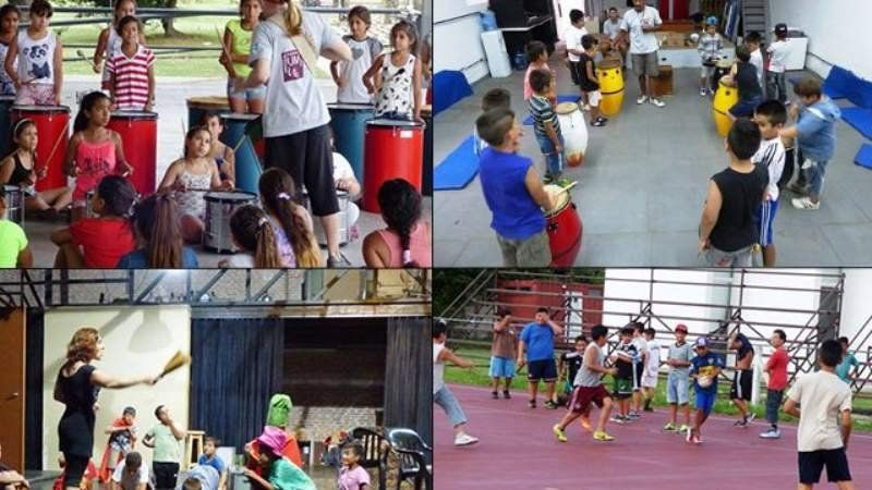 Programa de verano para chicos humildes del conurbano